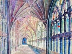 Gloucester Cathedral Cloister North Walk