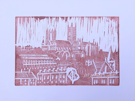 'Lincoln Cathedral from SW'