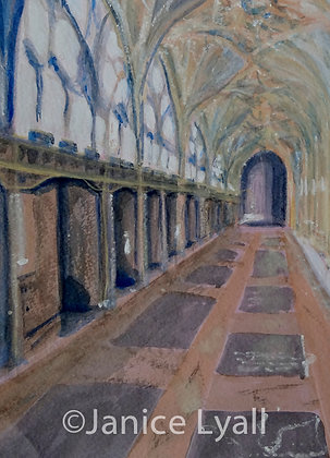 Gloucester Cathedral Cloisters South Walk