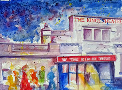 Enroute to Kings Theatre by Janice Lyall