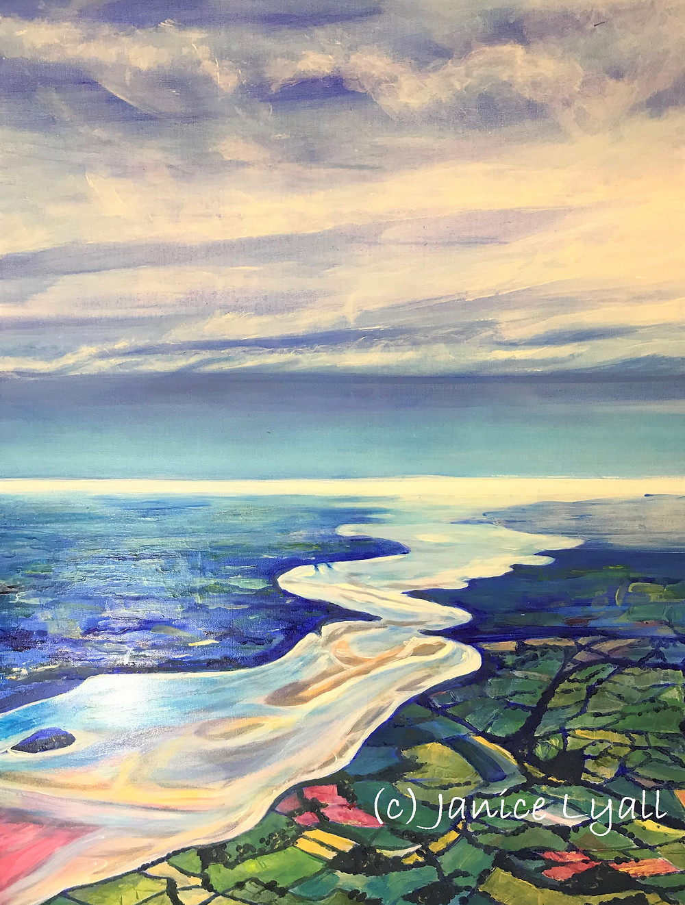 The Bends on the Severn by Janice Lyall