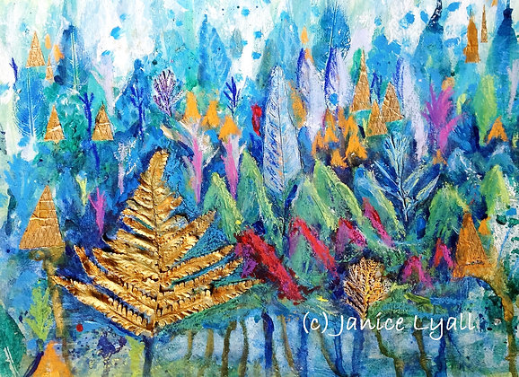'Early Autumn in the Forest of Dean'