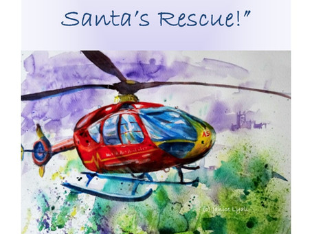 Who can help Santa in the middle of Christmas Eve night?