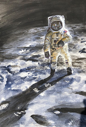 'NASA Moon Landing'