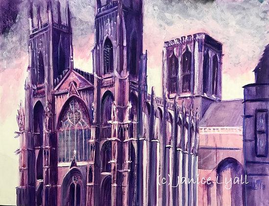 York Minster 'Dramatic'