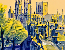 York - the Outer Wall