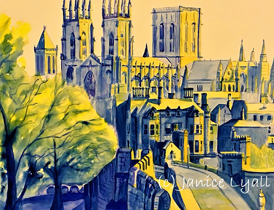 'York - the Outer Wall'