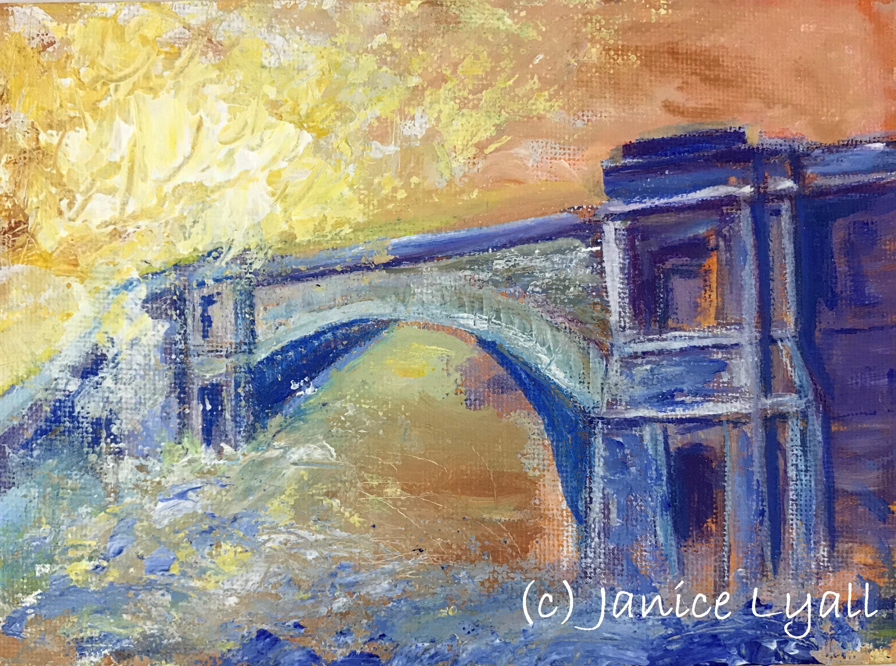 Early Morning Mist Telford's Bridge