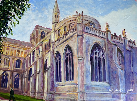 'Peterborough Cathedral the New Building'