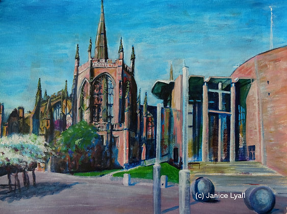 'Coventry Cathedral A New Spring'