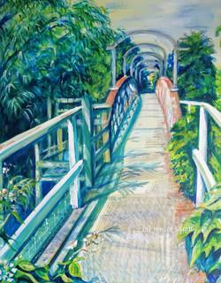 Llanthony Lock House Footbridge