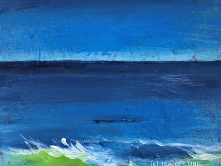 'Light over a Dark Blue Horizon'