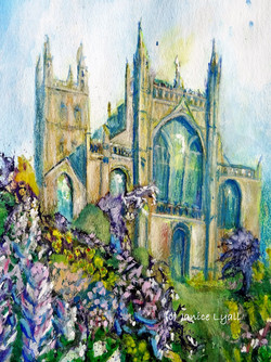 Gloucester Cathedral Spring