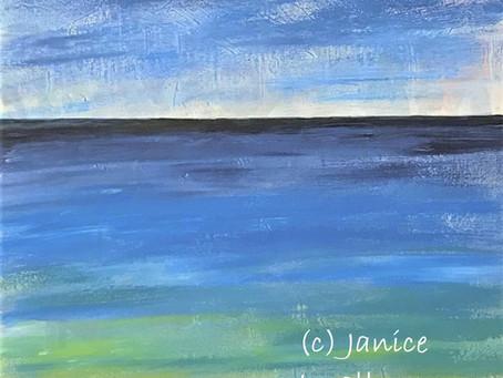 'Dark Blue Horizon'