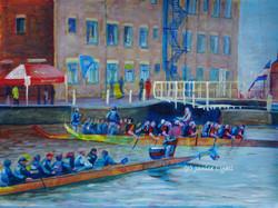 Dragon Boat Racing at Gloucester Doc