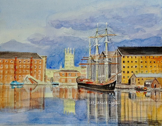 'Gloucester Docks, Past, Present & Future'