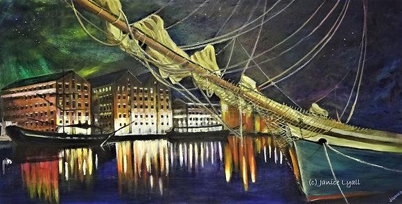 'Tall Ships in Gloucester Docks'