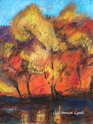 'Autumn below the Escarpment'