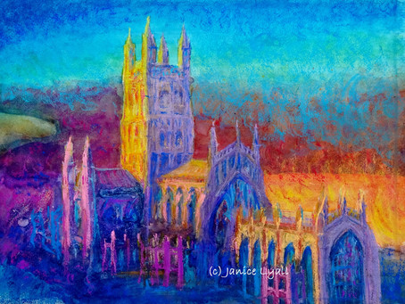Gloucester Cathedral in Full Colour