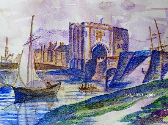 'West Gate and Bridge'