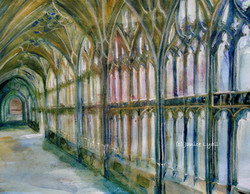Gloucester Cathedral Cloisters West Walk