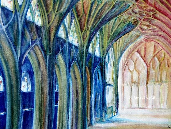 Gloucester Cathedral North Walk Lavatorium