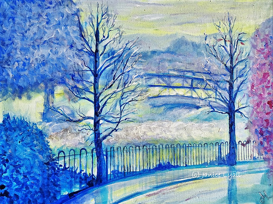 'H&G Canal Early Mist Rising'