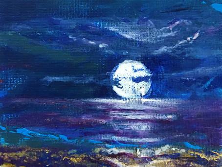 'Horizon in Moonlight'