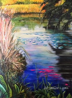 Spring Along the Towpath by Janice