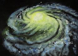 Milky Way, Sun, Earth and Gloucester