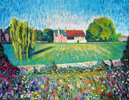 'Garden Wall - Llanthony Secunda Priory'