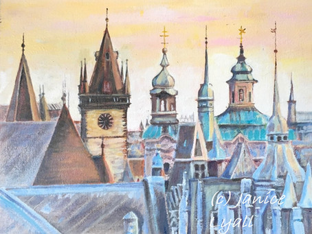 'Prague City of Towers'