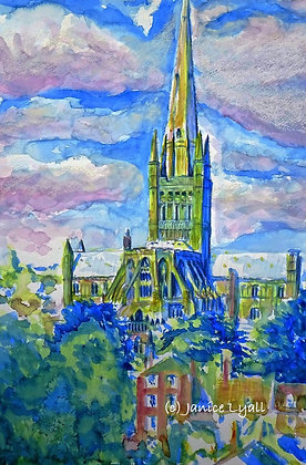 'Norwich Cathedral Standing Tall'