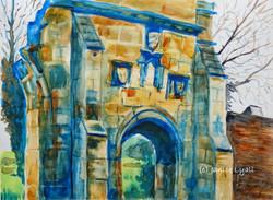 Before Restoration Llanthony Secunda Priory