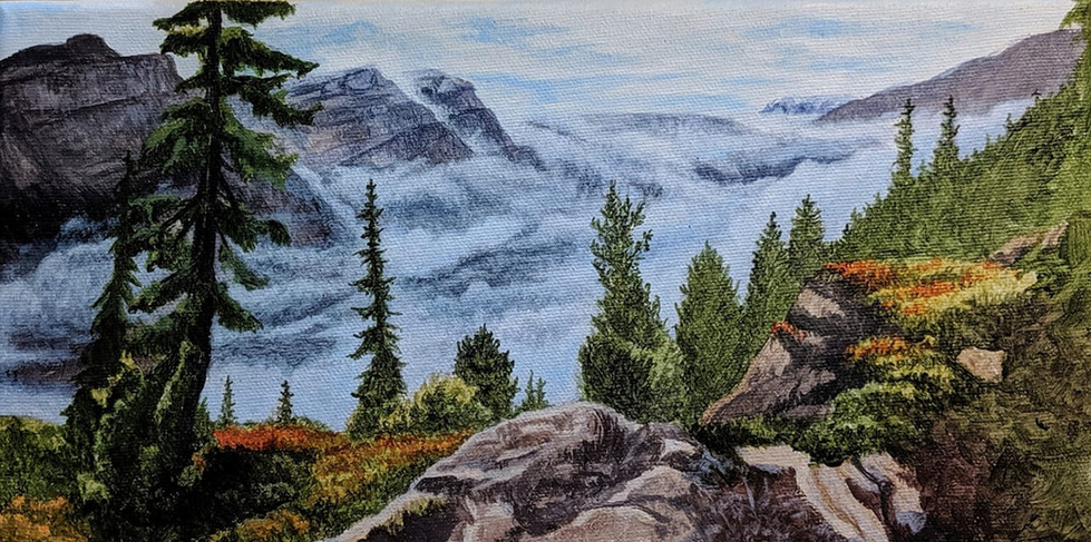 Clouds in the Rockies