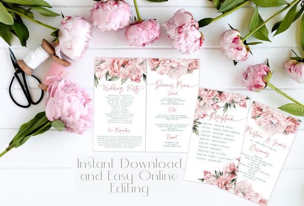 Pink Peony Wedding Suite