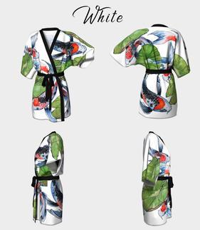 Kimono Robe White
