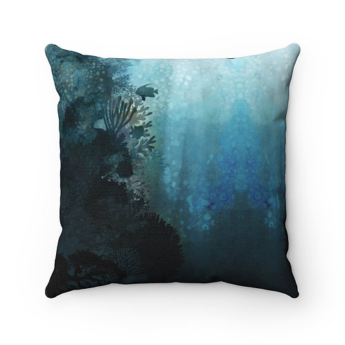 In The Coral Throw Pillow