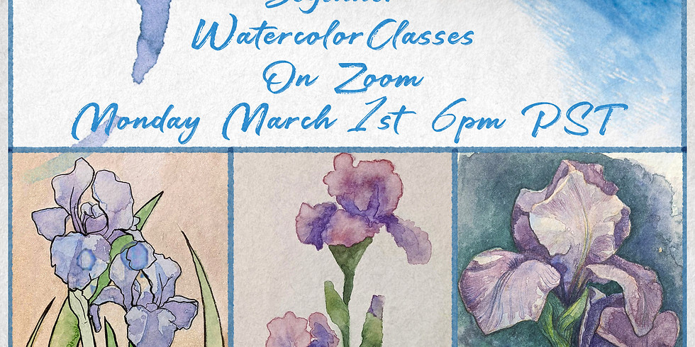 Free Introductory Watercolor Classes 4 Full Weeks