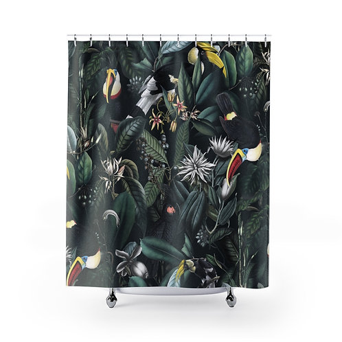 Tropical Rainforest in Grey