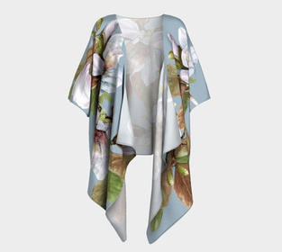 Vancouver Magnolia Draped Kimono