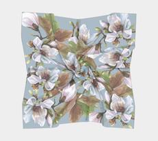 Magnolia Silk Scarf