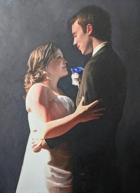 First Dance Wedding Portrait