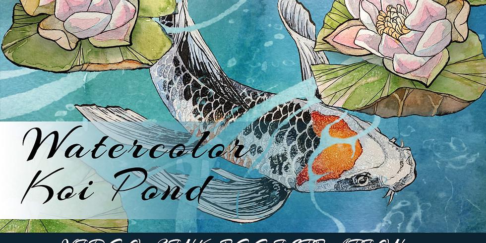 Koi Watercolor Class Video Link