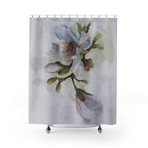 Vancouver Spring Magnolia Shower Curtain