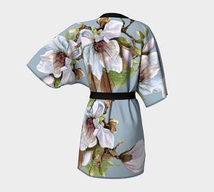 Vancouver Magnolia Kimono Robe