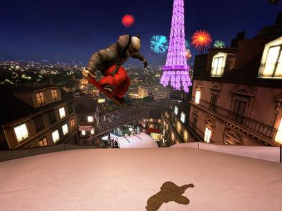 Environment Art Shaun White Snow Wii