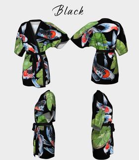 Kimono Robe Black