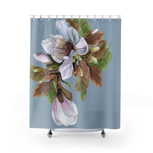 Vancouver Magnolia Shower Curtain