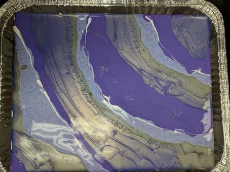 Geode Paint Pour